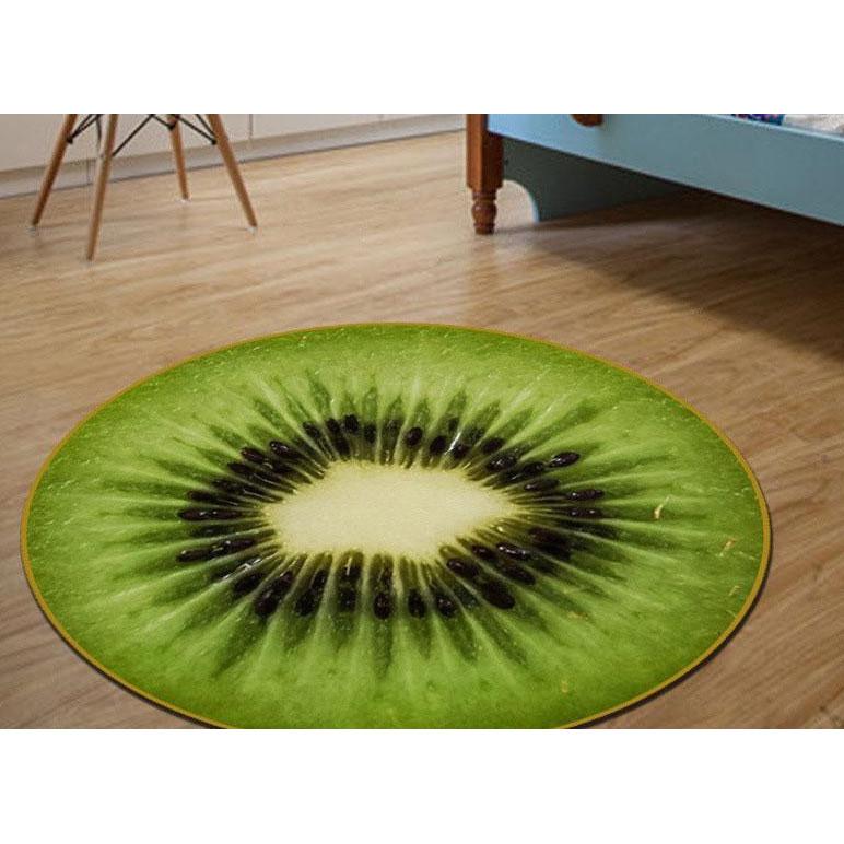 3d коврик безворсовый для дома 80 х 80 см - Киви