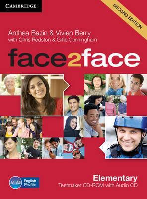 Face2Face 2nd Edition Elementary Testmaker CD-ROM and Audio CD, фото 2