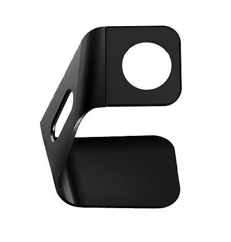 Держатель Exact Stand для Apple Watch Алюминиевый Черный (S330 / Black), фото 2