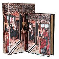 "Книга-шкатулка ""Живописец"" (30*21*7 см) комплект из 2 шкатулок (2953-1LKSH)"