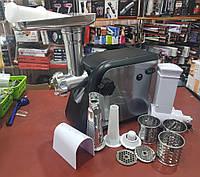 Электромясорубка + соковыжималка, шинковка Domotec MS-2020 (реверс) 2600W