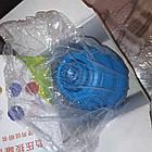 Сині гумові вакуумні банки 4 шт масажні гумові вакуумні масажні банки, фото 2