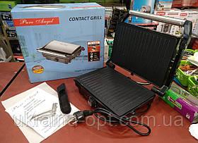 Електричний гриль Pure Angel PA-5404 c терморегулятором 2200W (барбекю-електрогриль)