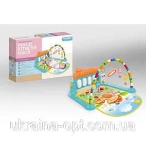 Развивающий коврик с детскими мелодиями НЕ 0639