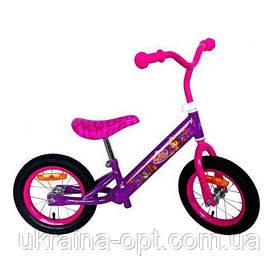 Детский велобег беговел фиолетовый