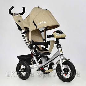 Детский трехколесный велосипед 7700 В - 5780 Best Trike Бежевый