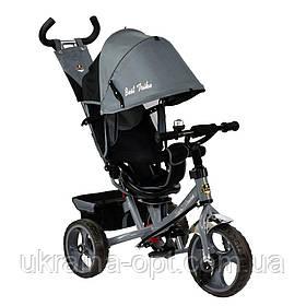 Трехколесный велосипед 7700 В - 6230 Best Trike Серый