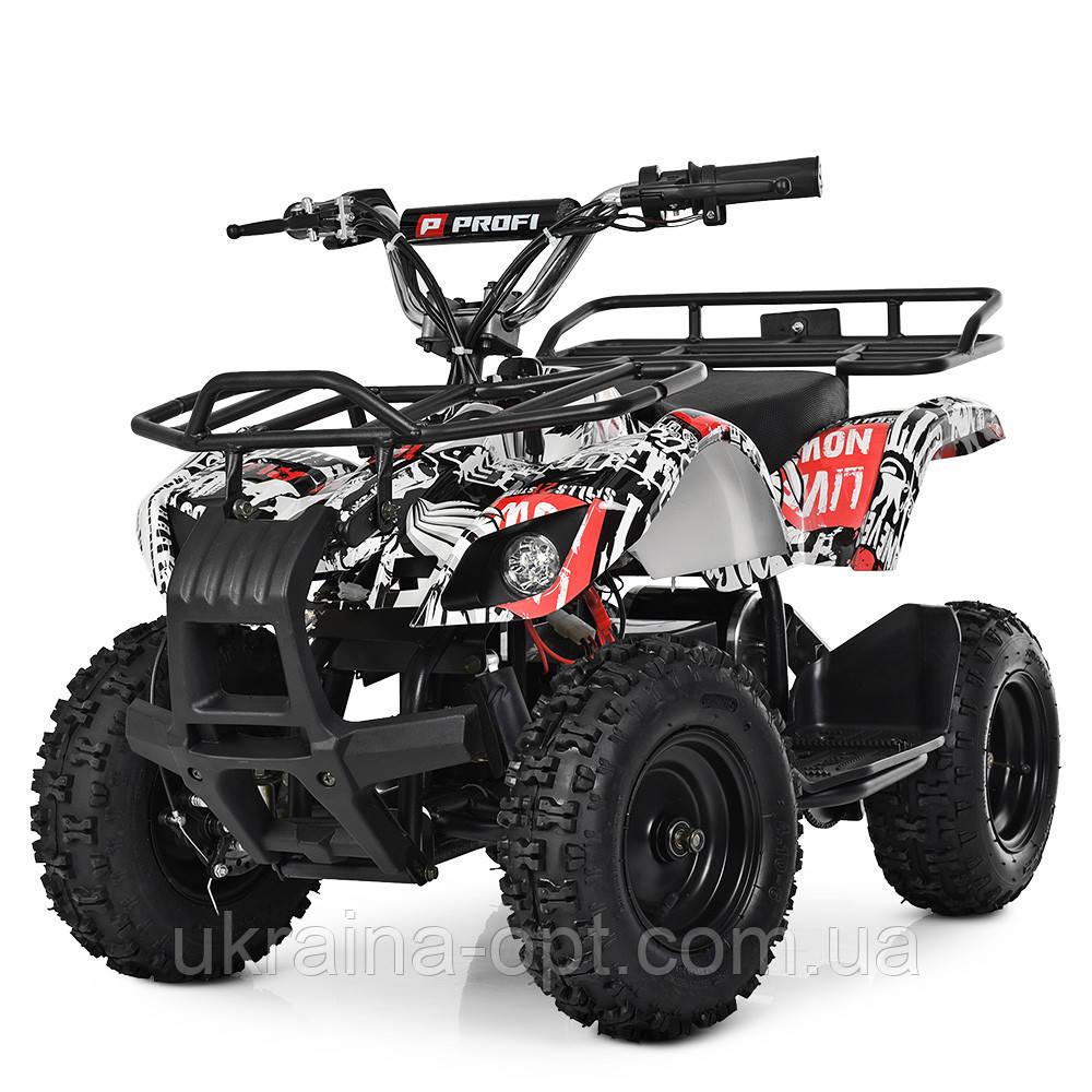 Квадроцикл. Надувные колеса. Один мотор. Три батареи. Время на езду 50 минут.  HB-EATV800N-NEW4(MP3) V2