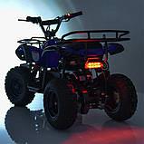 Квадроцикл. Надувные колеса. Один мотор. Три батареи. Время на езду 50 минут.  HB-EATV800N-NEW4(MP3) V2, фото 5