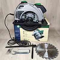 Пила дисковая ручная Craft-tec С ЛАЗЕРОМ PXCS-185 диск 1700 Вт