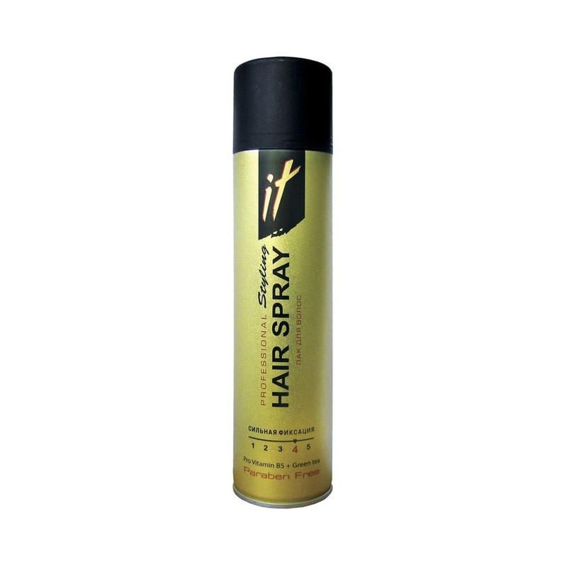 Лак для волос IT Проф Стайлинг В5 Зеленый чай 265 мл