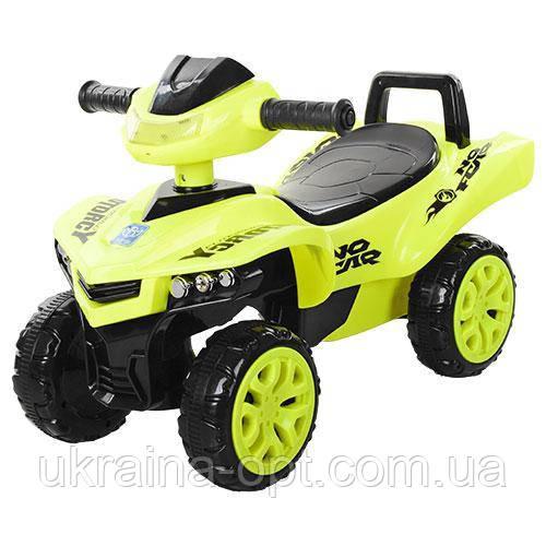 Детская каталка-толокар машинка толкатель M 3502-6