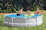 Каркасный бассейн. Диаметр 305. Высота 76 см. 2 слоя ПВХ и слой стекло-волоконной сетки Intex 26700, фото 2