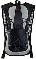Велосипедный рюкзак Hotspeed 7027-40 4,35 л черный с серым
