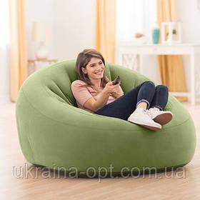 Надувное кресло. 124х119х76 см. Нагрузка 100 см. intex 68576 NP