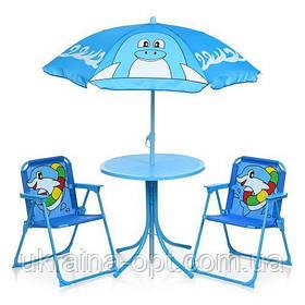 Детский столик со стульчиками. Размер 36х51х36 см. Дельфин Bambi 93-74-DLF
