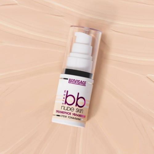 Тональный крем «Трехмерное увлажнение» Luxvisage BB Nude Skin - Nude