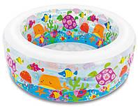 Детский надувной бассейн.152 см. высота: 56 см. Объем: 360 л. intex 58480