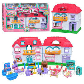 Кукольный домик  «Дом, милый дом». 37-17,5-34 см. Звуковые и световые эффекты. Keenway 22002