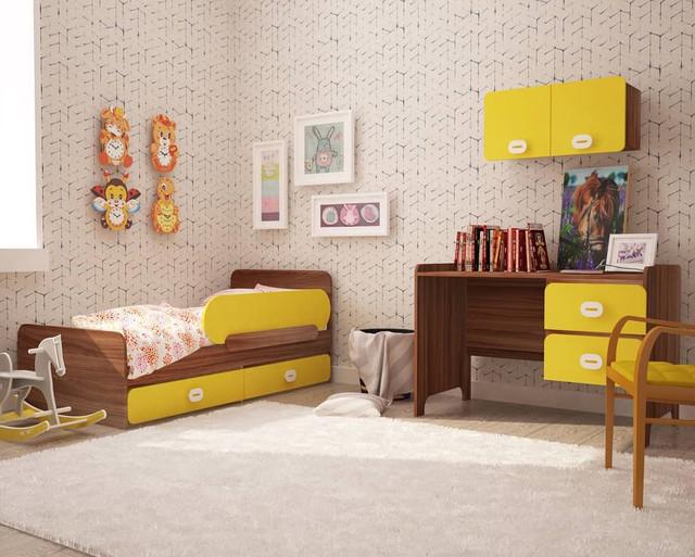 На фото: мебель для детской спальни