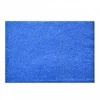Набір Фетр м'який з гліт., синій, 21 * 30см (10л) Santi