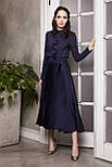 2278 блуза Лорет, темно-синий (46), фото 5
