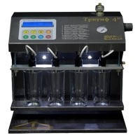 Триумф 4М  стенд для кавитационной очистки электромагнитных форсунок.