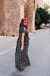 2331 платье Авангард, зеленый (S), фото 2