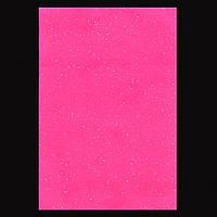 Набір Фетр м'який з гліт., рожевий, 21 * 30см (10л)) Santi