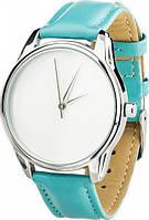 """Наручные часы ZIZ """"Минимализм"""" (ремешок небесно - голубой, серебро) + дополнительный ремешок (4600166)"""
