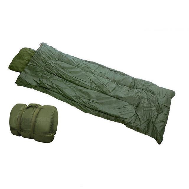 Cпальный мешок Mil-tec Pilot Olive (185х75 см) 14101001