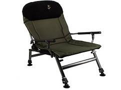 Карповое кресло Elektrostatyk с подлокотниками (FK5) нагрузка 150 кг.