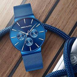 Мужские наручные часы MegaLith Blue
