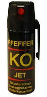 Газовый слезоточивый баллончик для самообороны Klever KO JET Spray 50 мл. (струйный)