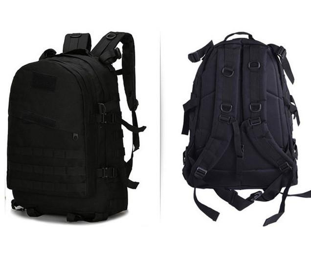 Тактический (военный) рюкзак Raid с системой M.O.L.L.E Black (601 черный)