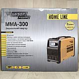 Акція! Зварювальний апарат Kaiser MMA-300 HOME LINE в Кейсі + Маска Хамелеон, фото 9