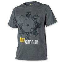 Мужская хлопковая футболка T-Shirt Helikon Bolt Carrier - Shadow Grey (TS-BCR-CO-35)