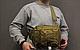 Тактическая - штурмовая универсальная сумка Silver Knight на 9 литров с системой M.O.L.L.E Coyote (098 песок), фото 6