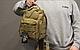 Тактическая - штурмовая универсальная сумка Silver Knight на 9 литров с системой M.O.L.L.E Coyote (098 песок), фото 7