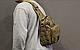 Тактическая - штурмовая универсальная сумка Silver Knight на 9 литров с системой M.O.L.L.E Coyote (098 песок), фото 9
