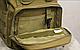 Тактическая - штурмовая универсальная сумка Silver Knight на 9 литров с системой M.O.L.L.E Coyote (098 песок), фото 10