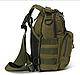 Тактическая - штурмовая универсальная сумка Silver Knight на 9 литров с системой M.O.L.L.E Olive (098 олива), фото 2