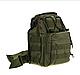 Тактическая - штурмовая универсальная сумка Silver Knight на 9 литров с системой M.O.L.L.E Olive (098 олива), фото 5