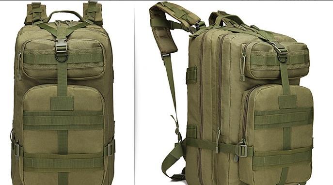 Тактический (городской) рюкзак Oxford 600D с системой M.O.L.L.E 40 л. Olive (ta40 олива)