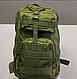 Тактический (городской) рюкзак Oxford 600D с системой M.O.L.L.E 40 л. Olive (ta40 олива), фото 2