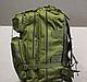 Тактический (городской) рюкзак Oxford 600D с системой M.O.L.L.E 40 л. Olive (ta40 олива), фото 4