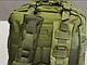 Тактический (городской) рюкзак Oxford 600D с системой M.O.L.L.E 40 л. Olive (ta40 олива), фото 7