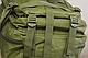 Тактический (городской) рюкзак Oxford 600D с системой M.O.L.L.E 40 л. Olive (ta40 олива), фото 8