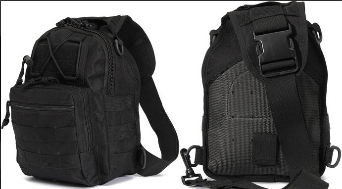 Тактическая - штурмовая универсальная сумка на 6-7 литров с системой M.O.L.L.E (095)