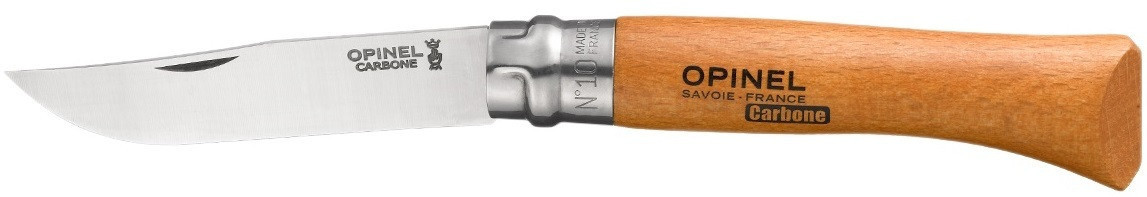 Нож Opinel (опинель) Carbon Steel №10 Vrn (113100)